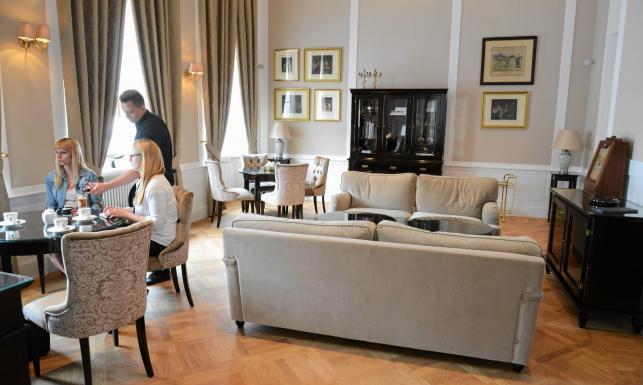 Pałac Prymasowski hotelem. \