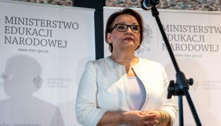 Szefowa MEN Anna Zalewska