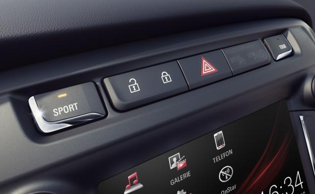 Opel zafira - tryb sport wyostrza zmysły auta