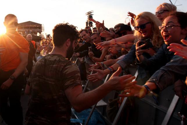Open'er Festival 2016: Foals / Fot. Joanna Combik
