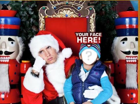 Zrób sobie fotkę z Mikołajem-Eminemem!