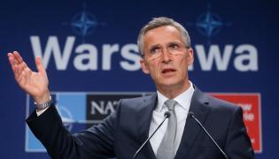 Sekretarz generalny Sojuszu Północnoatlantyckiego Jens Stoltenberg