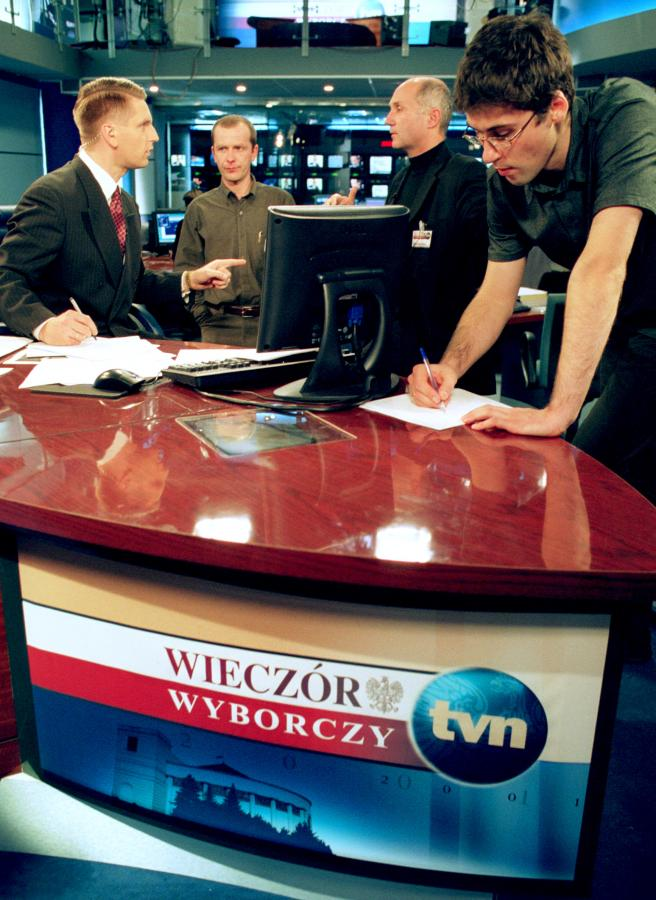 Tomasz Lis w TVN24