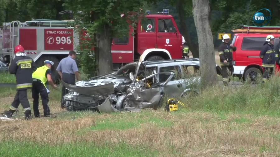 Zderzenie dwóch aut w Gorzowie Wielkopolskim
