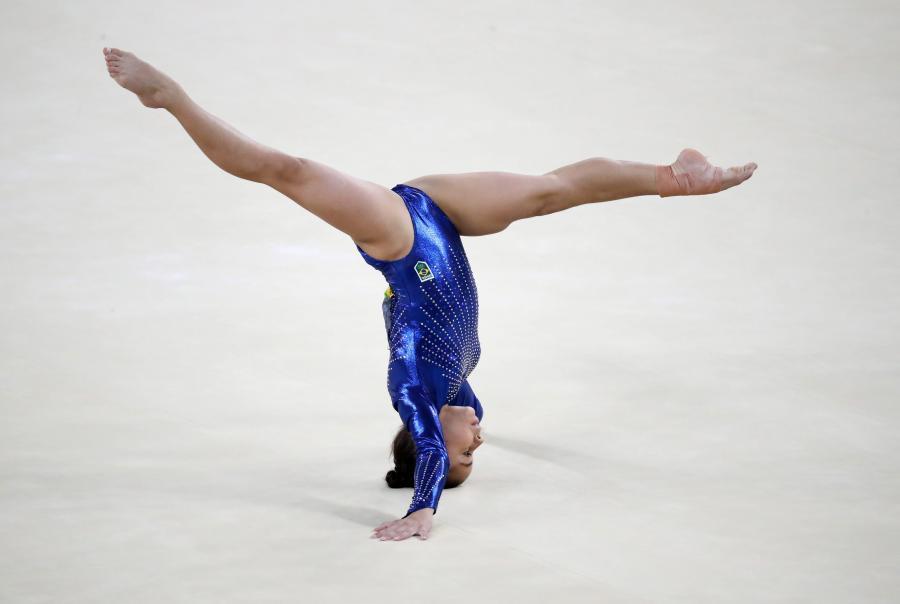 Ładne, zgrabne i do tego chyba z gumy. Gimnastyczki w Rio zachwycają nie tylko umiejętnościami