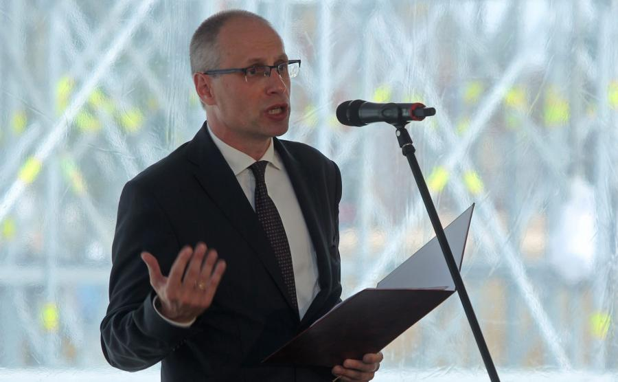 Paweł Machcewicz, dyrektor Muzeum II Wojny Światowej