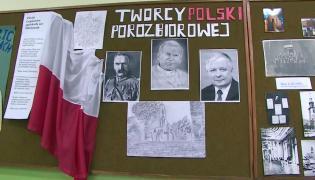 """Papież, Piłsudski i Kaczyński jako """"twórcy Polski porozbiorowej"""""""