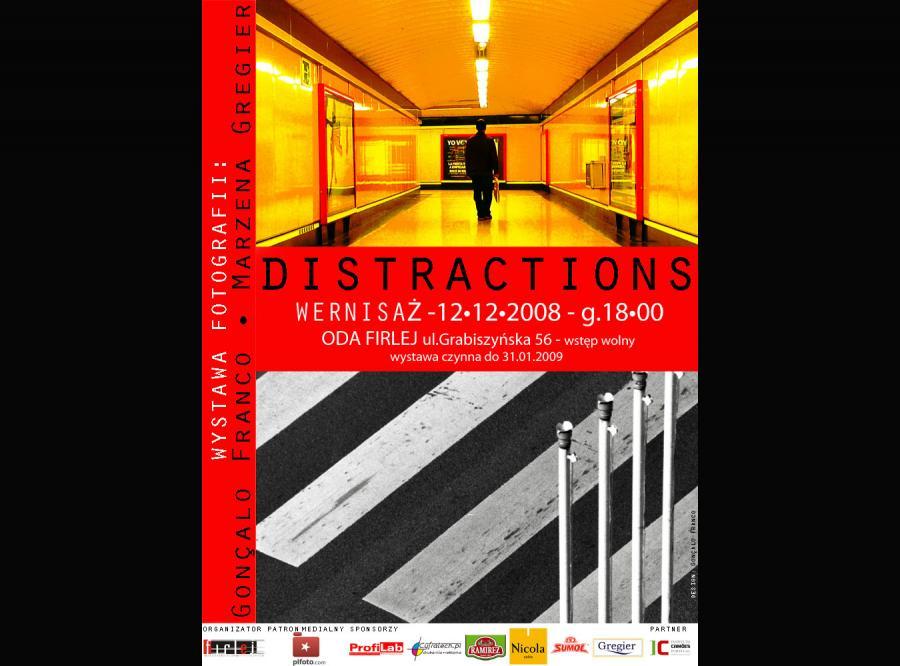 Wystawa Distractions do zobaczeniea dziś, we wrocławskim ODA Firleju
