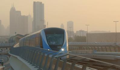 Metro w Dubaju jeździ bez maszynistów