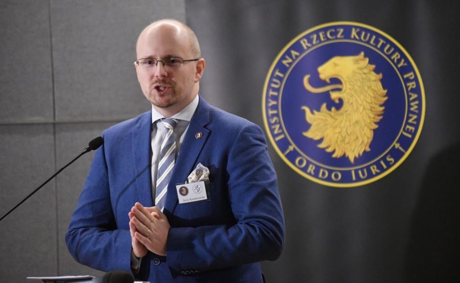 Prezes Instytutu na rzecz Kultury Prawnej Ordo Iuris Jerzy Kwaśniewski