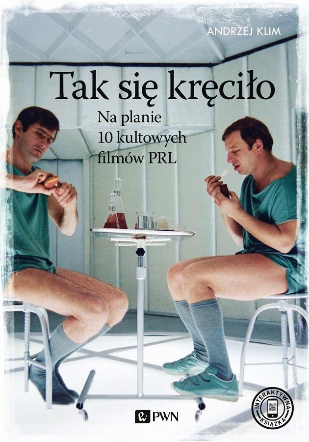 Okładka książki Andrzeja Klima \