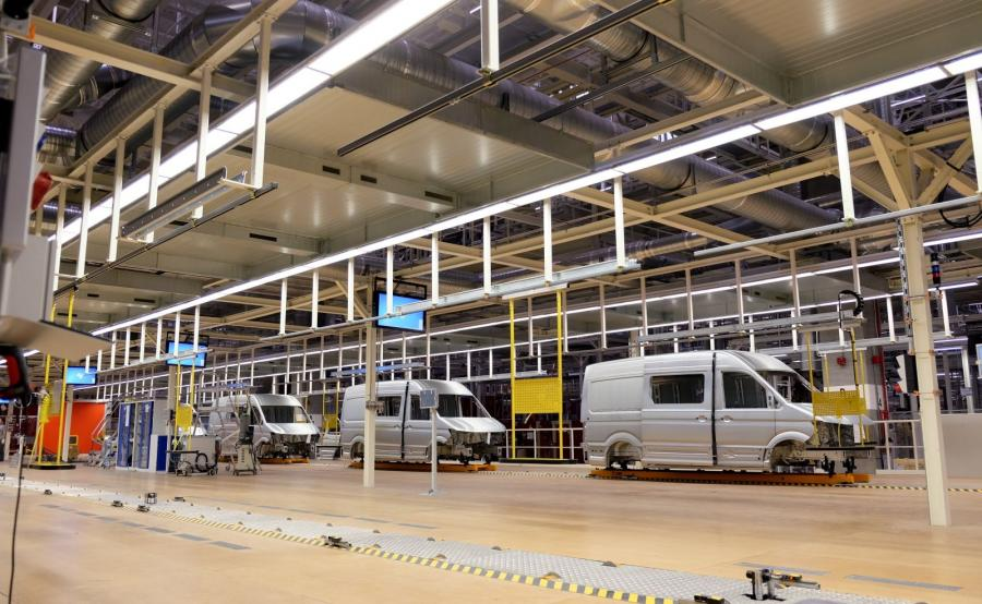 Volkswagen otworzył nową fabrykę samochodów