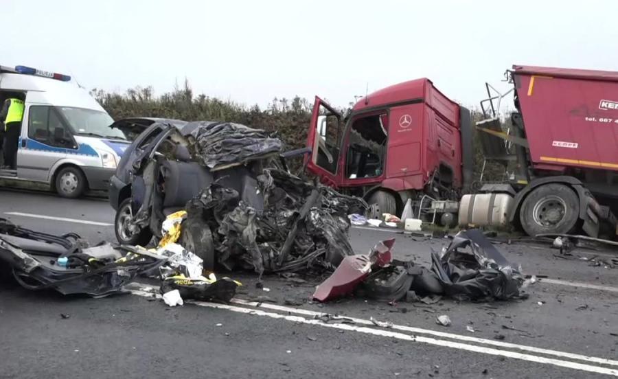 Wypadek koło Bogatyni