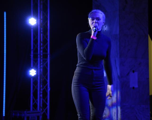 Rosalie - koncert na targach Co Jest Grane, Warszawa, 26 listopada 2016