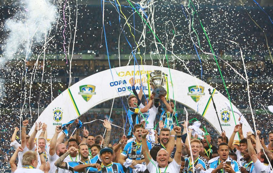 Piłkarze Gremio Porto Alegre