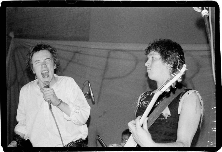 Sex Pistols podczas koncertu 15 grudnia 1977 roku