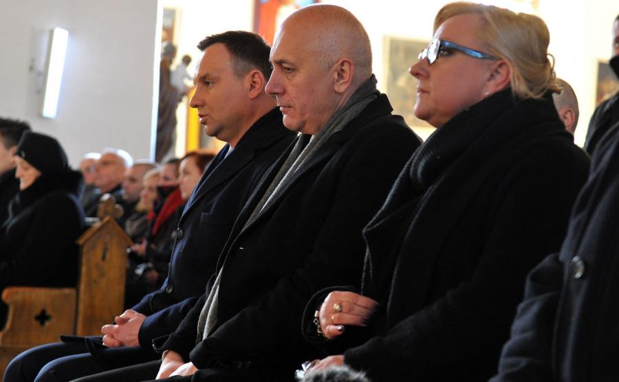 Andrzej Duda, Joachim Brudziński i Beata Kempa