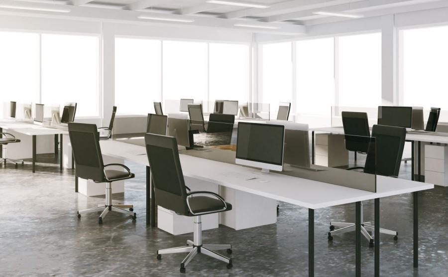 Open space w biurze
