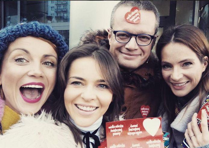 Katarzyna Zielińska, Edyta Herbuś, Marcin Meller, Anna Dereszowska