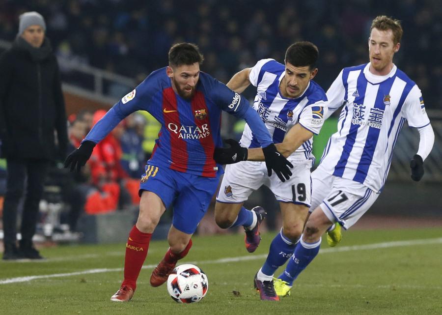 Lionel Messi i Yuri Berchiche