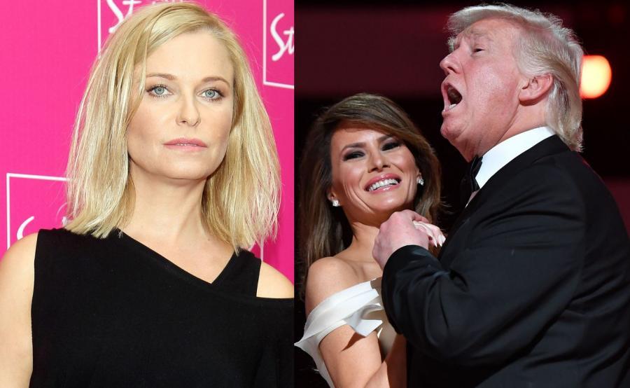 Paulina Młynarska, Melanie i Donald Trump