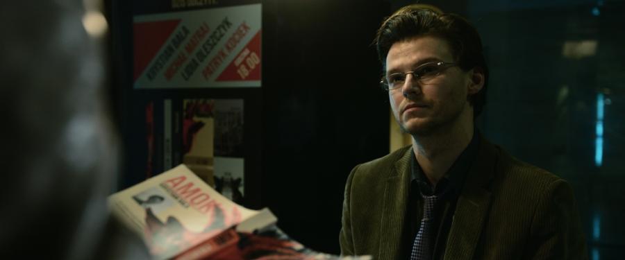 """Mateusz Kościukiewicz w filmie Kasi Adamik """"Amok"""". Premiera 24 marca 2017"""