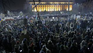 Protesty w Rumunii