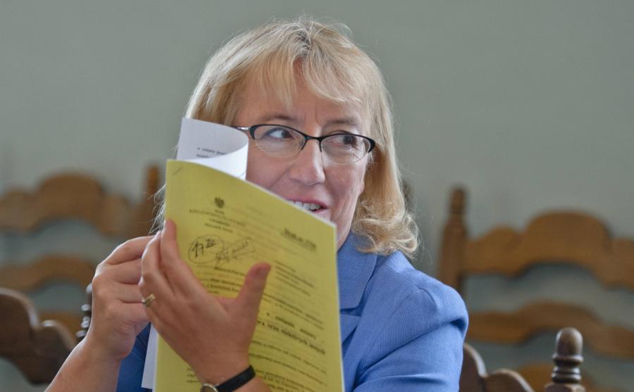Posłanka PiS Barbara Bubula