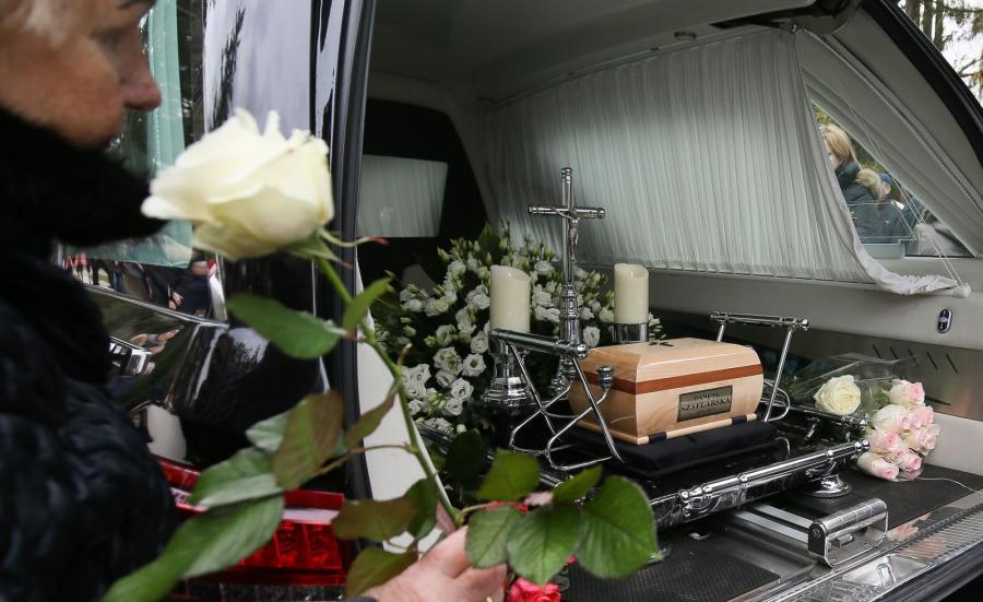 Pogrzeb Danuty Szaflarskiej