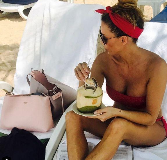 Małgorzata Rozenek na wakacjach