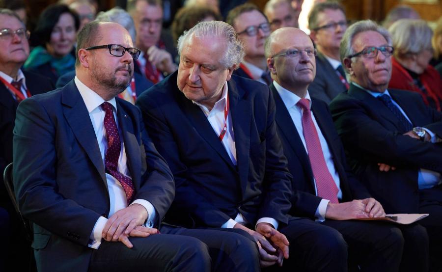 Paweł Adamowicz i Andrzej Rzepliński