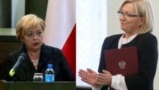 Małgorzata Gersdorf i Julia Przyłębska