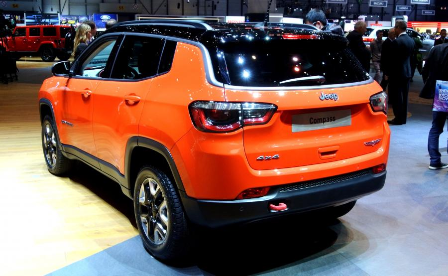 Jeep Compass w wersji Trailhawk