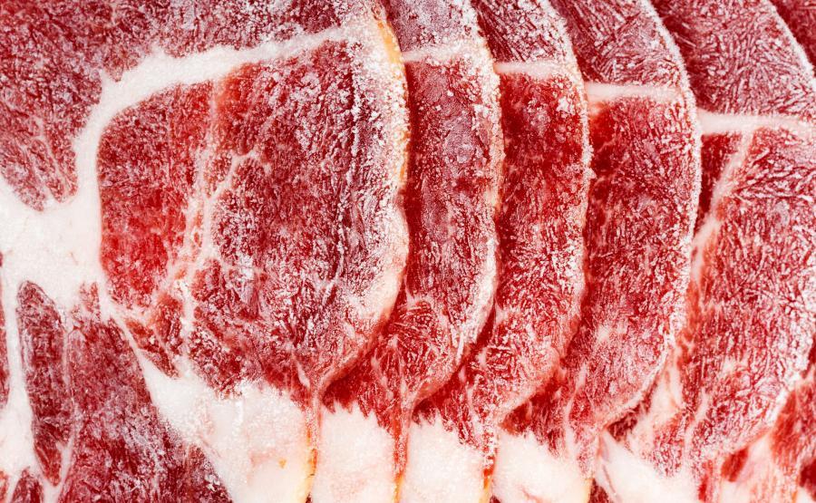 Zamrożone mięso