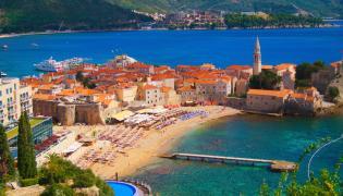 Budva w Czarnogórze